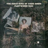 FLEETWOOD MAC The Pious Bird Of Good Omen Vinyl Record LP Blue Horizon 1969